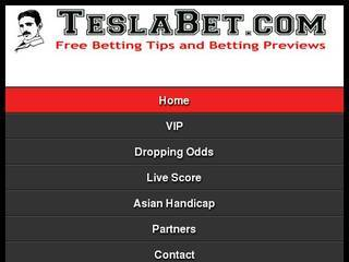 Screenshot of Tesla Bet