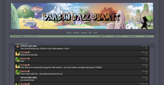 Screenshot of Dragon Ball Summit