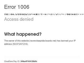 Screenshot of Ravenclaw Pride