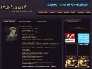 Screenshot of PolishBux.pl