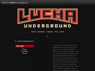 Screenshot of Lucha Underground
