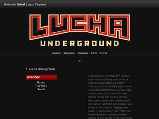 Screenshot of Lucha Underground