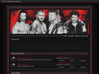 Screenshot of Ground Zero Wrestling