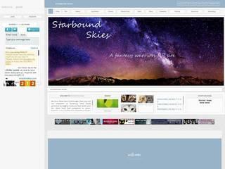 Screenshot of Starbound Skies