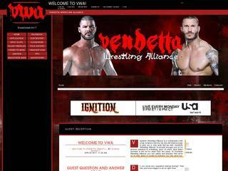 Screenshot of Vendetta Wrestling Alliance