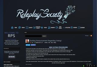 Screenshot of Roleplay Society