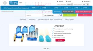 Screenshot of UVIPE
