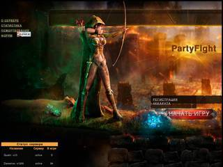 Screenshot of PartyFight