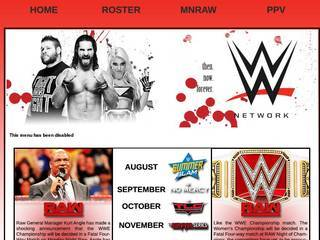 Screenshot of WWE NETWORK 18