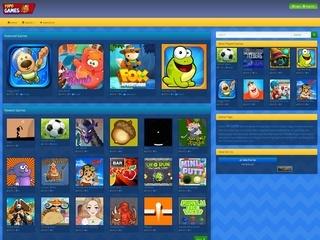 Screenshot of YOPOGAMES.COM - MINI GAMES FOR KIDS
