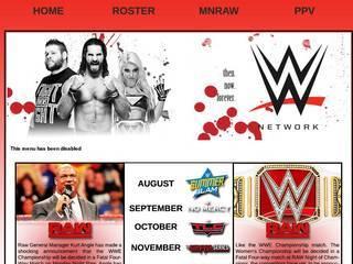 Screenshot of WWE NETWORK 18