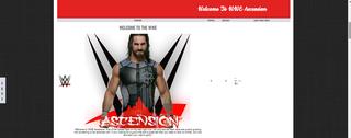 Screenshot of WWE Ascension