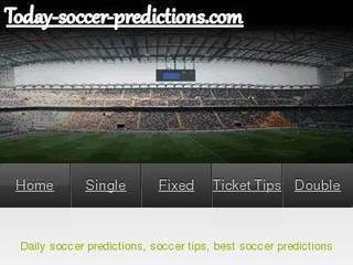 Screenshot of Soccer Predictions