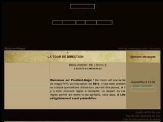Screenshot of Poudlard-Magic
