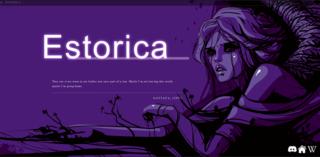 Screenshot of Estorica