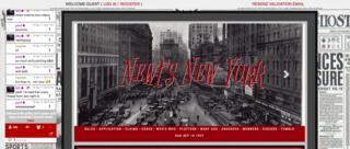 Screenshot of Newt's New York