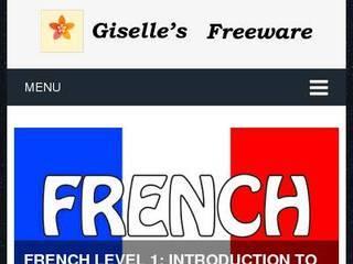 Screenshot of Giselle's Freeware
