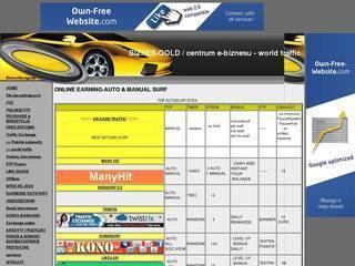 Screenshot of BIZNES-GOLD ebusiness center