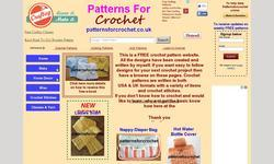 Screenshot of Patterns for Crochet