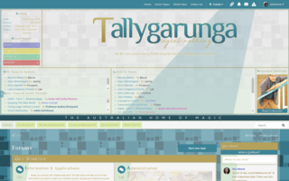 Screenshot of Tallygarunga | Harry Potter like never before
