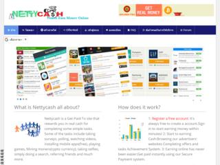 Screenshot of nettycash
