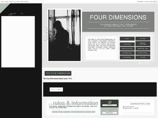 Screenshot of The Four Dimensions