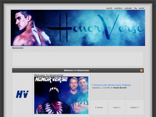 Screenshot of HonorVerse