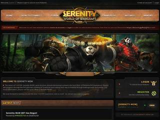 Screenshot of Serenity-WoW