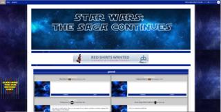 Screenshot of Star Wars The Saga Continues