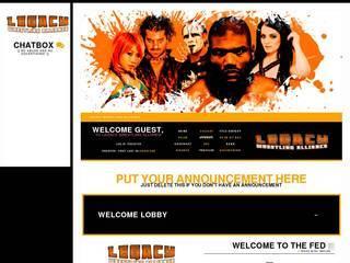 Screenshot of Legacy Wrestling Alliance