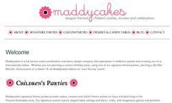 Screenshot of Maddycakes