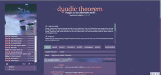 Screenshot of Dyadic Theorem