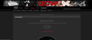 Screenshot of Global Championship Wrestling