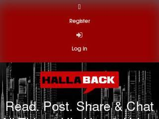 Screenshot of Halla Back