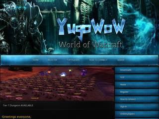 Screenshot of [WOTLK] YugoWoW 85 FunServer 3.3.5