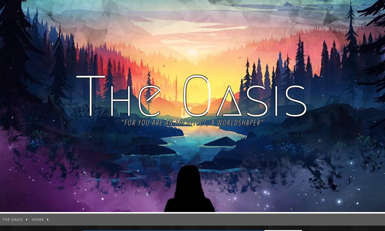 Screenshot of The OASIS