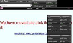 Screenshot of sensei hotel