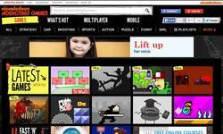Screenshot of addictinggames