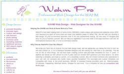 Screenshot of WahmPro - Professional Website D