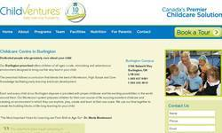 Screenshot of montessori Burlington