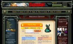 Screenshot of Daimonin MMORPG