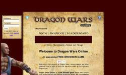 Screenshot of Dragon Wars Online