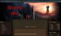 Screenshot of **DraculaMU Free Premium Server**