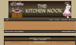 Screenshot of THE KITCHEN NOOK
