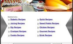 Screenshot of over 40,000 free recipes