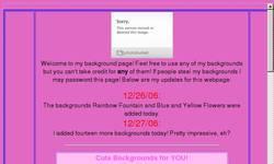Screenshot of Sugarystrawberrygal
