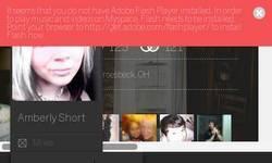 Screenshot of Myspace Website