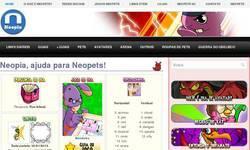 Screenshot of Neopia.com.br
