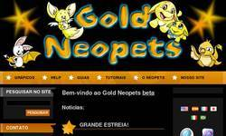 Screenshot of Gold Neopets