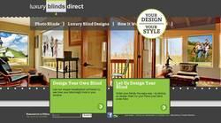 Screenshot of luxury blinds!